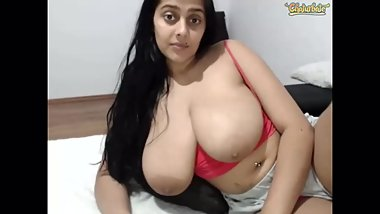Rosasweet02 shows and shakes big tits part 2