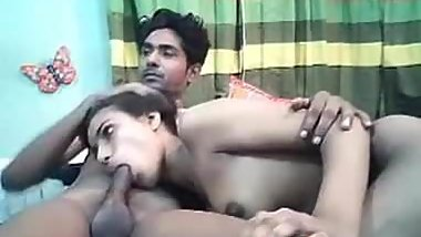 Amateur - Young Indian lovers fucking on Webcam