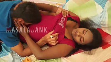 Hot desi shortfilm 129 - Boobs squeezed hard, kissed & pressed continuously