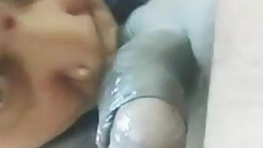 Indian house wife aunty Blowjob sex Husband, indian aunty se