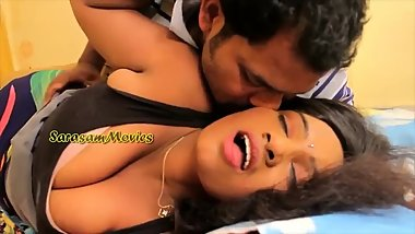 Hot desi shortfilm 319 - Big boobs kissed many times, deep cleavage show
