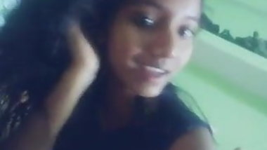 Young Indian Teen - Nude Selfie Video Leaked