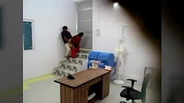 Indian teen girl fuck by her boss in office