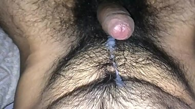 No hands cumshot edging hairy