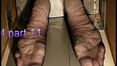 Bianca's wet feet torture 2014 part 11