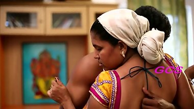 Hot Ramya Aunty Newly Married Spicy Romantic Scene of Young Couple