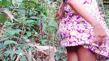 Sri lankan forest pissing and anal and pussy fuck with ladyfingers TRAILER
