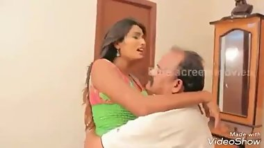 Old indian men romancing with young girls - Compilation