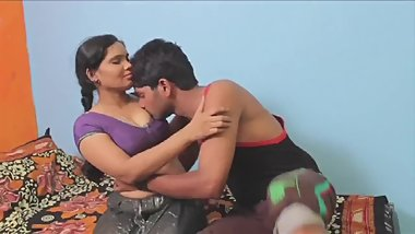 Hot desi shortfilm 381 - Horny Anjali boobs kissed in blouse, navel kissed