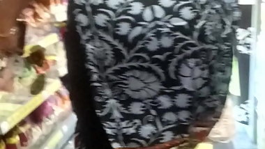 Candid indian busted sexy saree slit vpl booty jiggle