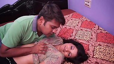 Hot desi shortfilm 193 - Big boobs squeezed, pressed & kissed