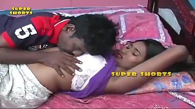 Hot desi shortfilm 102 - Swati Naidu boobs squeezed hard & kissed in bra