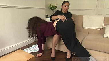 Bad Maid Lilimissarab Spanked by Sahara Knite (Teaser)