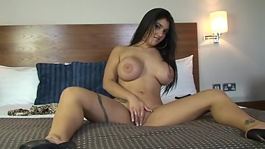 Indian Leah Jaye's Best British Dirty Talk - JOI