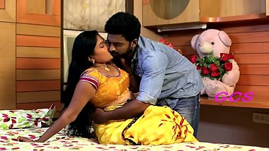 Hot Ramya Aunty Romance In Bedroom Scene Latest Short Film