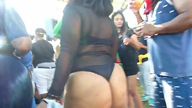 West Indian Day Parade booty