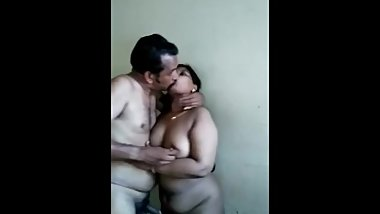 Fucking neighbour aunty and sucking boobs