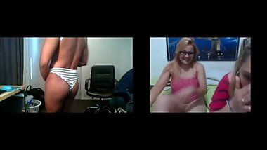Best reactions of cam girls - part 1